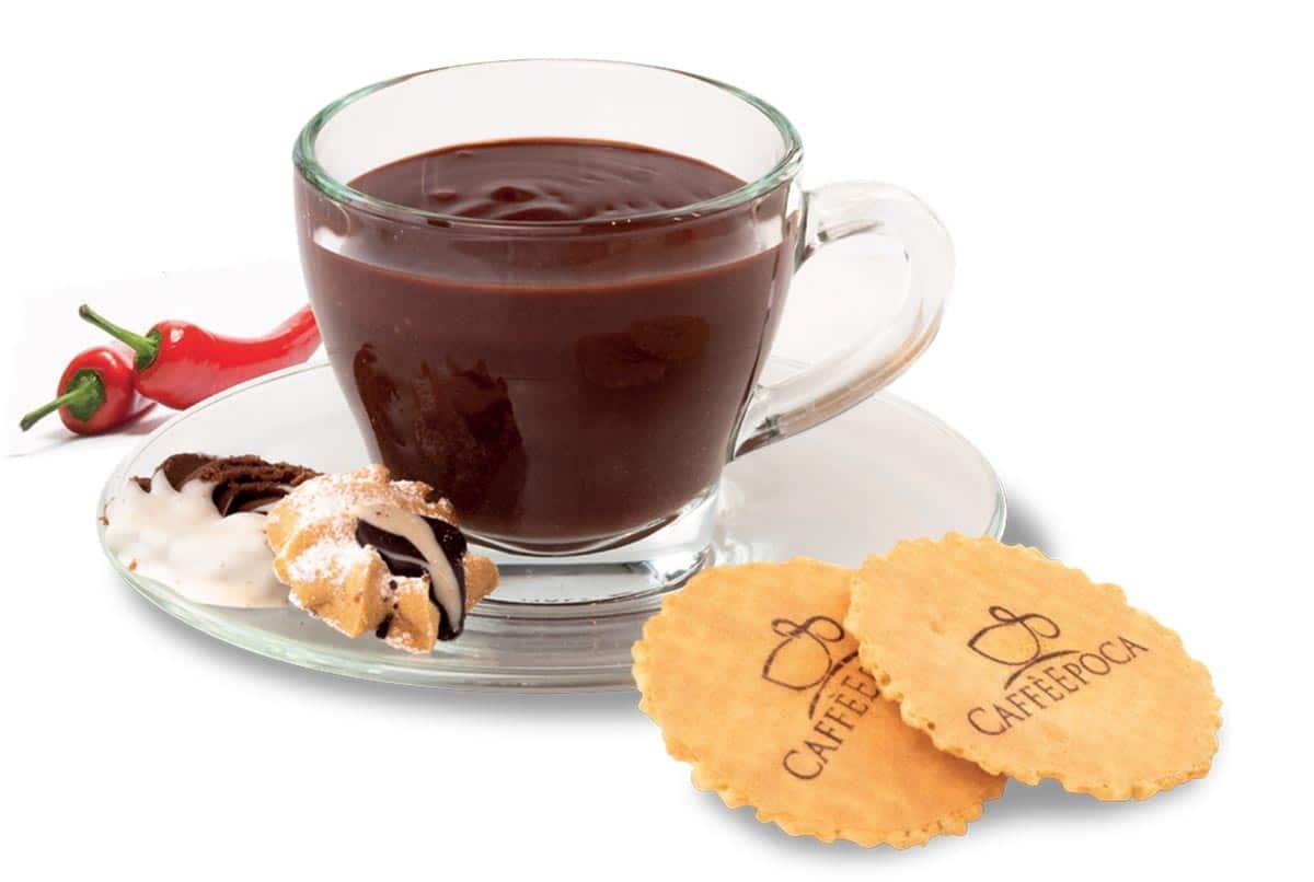 cioccolata calda al peperoncino